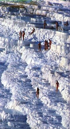 Amazing, Pamukkale, Turkey