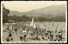 ipanema-porto-alegre-1970  da praia de Ipanema, zona sul de Porto Alegre, na década de 1970.