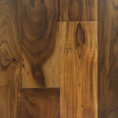 Natural Floors by USFloors Exotic 4.72-in W Prefinished Acacia Locking Hardwood Flooring (Natural)