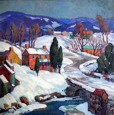Coppedge, Fern Isabel: Snowy Country Side