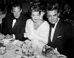 Good Old Hollywood William Holden, Jane Wyman, & Cary Grant - 1948