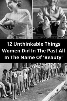 Who said it's easy to be a woman? Since ancient times women strived to be good housewives, amazing mothers, and also attractive wives to their husbands, trying everything possible to keep their looks and beauty intact over the years.