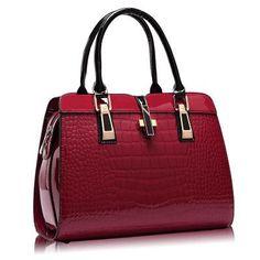 d28a9e9c70c European Style Women s Patent Leatherette Handbag