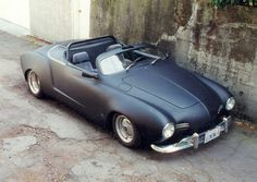 Ghia with flared fenders