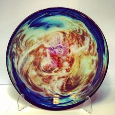 Josh Simpson Galaxy Platter, on sale at www.altamiragallery.com