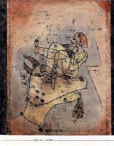 Paul Klee - Der Bock, 1921
