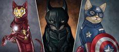 Jenny Parks, une geekette très douée qui s'amuse à remplacer nos héros favoris par des petits chats trop choupi. Iron-Cat, Hulkitty ou the Dark Cat ?
