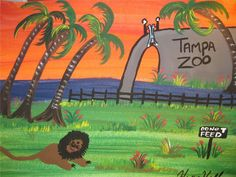 HENRY HILL GOODFELLA'S ORIGINAL PAINTING TAMPA SHAKEUP and DOWN EARLY 2006