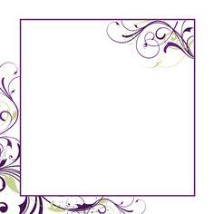 free printable blank invitations