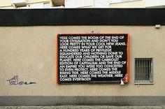mono.editionen #04 / Robert Montgomery: Here Comes the Boom Installation View