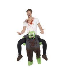 Weinachtskostüm Schulter Piggy Back Kostüm Erwachsene Party Outfit Carry Ride on