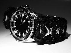Paracord watch hex ( watch eaglemossn collection quartz)