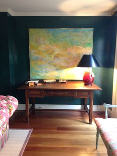 Watercress Springs Estate Sales Weston CT Moving Sale May 9th-10th, 2015 - Signed Painting and Country Table