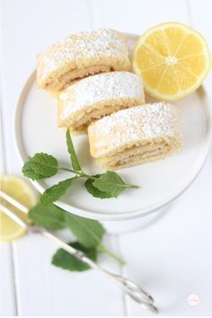 Lisbeths Cupcakes Zitronen MInz Biskuit
