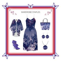 """Pink and Blue Morning Frost Fractal"" Items by artist4god-rose-santuci-sofranko on Polyvore featuring polyvore, fashion, style and Betsey Johnson Please visit my website for info on purchasing my products and books. www.Artist4God.net Thank you & God bless!"