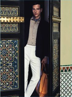 Robb Report Germany delivers an extravagant outing to Marrakesh for its summer issue. Model Alexandre Cunha steals the spotlight in a luxurious wardrobe. Mario Gomez photographs the Brazilian actor in a mix of casual and formal looks. Stylist Lale Aktay creates covetable ensembles. Here, there are several standouts. The fashion shoot features brilliant pieces like...[ReadMore]