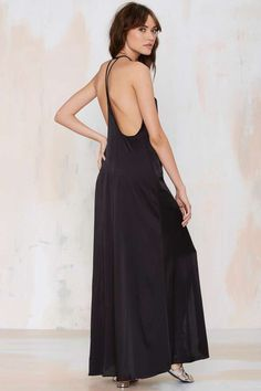 Slit Up Maxi Dress - the perfect flowy chic summer dress