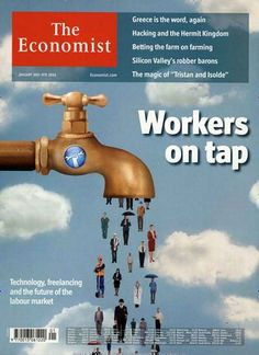Technology, freelancing and the future of the labour market. Gefunden in: THE ECONOMIST, Nr. 1/2015