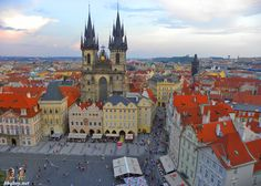 See the views from Old Town Hall Tower  One of the best views in town and an easy ride up in an elevator.