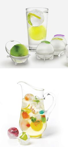 Ice ball molds - fruit infuser