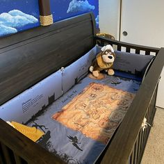 Peter Pan Crib Baby Bedding Set Neverland Never Grow Nursery Crib, Baby Crib Bedding, Baby Nursery Decor, Nursery Ideas, Disney Baby Bedding, Babies Nursery, Project Nursery, Room Ideas, Disney Baby Nurseries