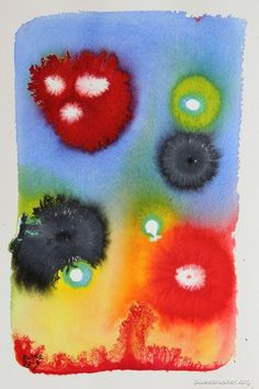 Petri 6 (wild types) - 10.25 x 7 inches, watercolor and ink on paper.  2013 Blake Brasher