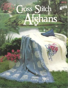 Cross Stitch Afghans Patterns by BeachinBoutique on Etsy