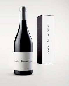 Italian full service advertising agency, Concept Store, based in Pescara, have designed this elegant, minimal and beautifully presented wine packaging...