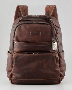 Frye Logan Men's Leather Backpack