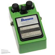 "Ibanez TS9 Tube Screamer.  I use this pedal more than any other hands down.  It is part of my ""tone"" if I have one."