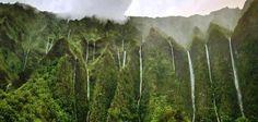 Land of a Thousand Waterfalls  Hawaiian Islands