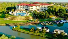 New Egreta Hotel Danube Delta, Paradise On Earth, European Countries, Once In A Lifetime, Romania, River, Mansions, Country, House Styles