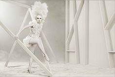 White Photography by Ruben Afanador White Photography, Fashion Photography, Ballet Shoes, Dance Shoes, Great Hair, Albino, Photos, Ideas, Trends