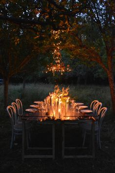 magical candle lit dinner // tadam studio for lovelyday.be