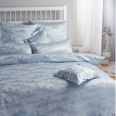 Bauer (Toile) by Rogitex Toile Bedding, Bedding Sets, Comforter Cover, Duvet Covers, Luxury Bedding, Comforters, Home, Design, Creature Comforts