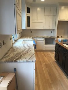 Roma Imperiale Quartzite Countertop Just Installed Progress Kitchens Amp Baths Pinterest