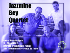 The Jazzmine Bey Quartet (Tom Hornig, saxophone; Bruno Paoli, piano; Ruedi Felder, bass; Arnaud Oeggerli, drums) plays mainly original compositions by Bruno Paoli, as well as rarely played tunes by MacCoy Tyner, Wayne Shorter and Abdullah Ibrahim.