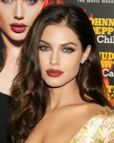 Most Beautiful Faces, Stunning Eyes, Beautiful Women Pictures, Beautiful Girl Image, Megan Fox Hair, Face Shape Hairstyles, Cute Girl Face, Brunette Beauty, Angelina Jolie