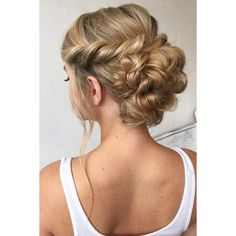 Prom hair ❤ liked on Polyvore featuring beauty products and haircare