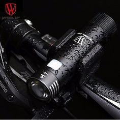 WHEEL UP Mini Front Handlebar Bike Light USB Rechargeable Cycling Led Lights Battery Flashlight Waterproof Bicycle Accessories