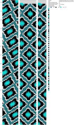 18 around bead crochet rope pattern Crochet Bracelet Pattern, Crochet Beaded Necklace, Loom Bracelet Patterns, Bead Crochet Patterns, Bead Crochet Rope, Bead Loom Bracelets, Beaded Jewelry Patterns, Beading Patterns, Beaded Crochet
