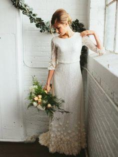 Boho Wedding Dresses from Etsy (15)