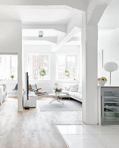immaculate whiteness | (my) unfinished home