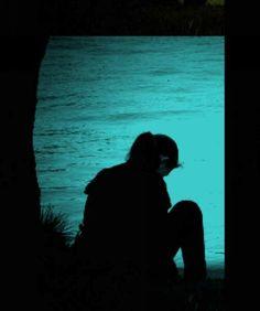 Sad and alone