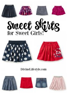 Sweet Skirts for Sweet Girls come from the fabulous Tea Collection. These skirts will have your daughter looking chic and adorable. #aff