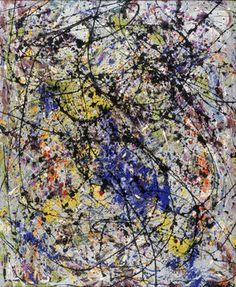 Reflection of the Big Dipper - Jackson Pollock