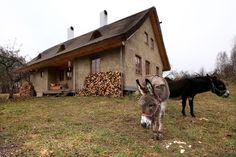 nízkoenergetický dom zo slamy