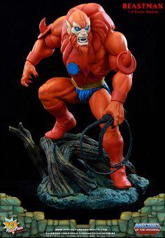 Estátua Homem-Fera (Beast Man) – He-Man e os Mestres do Universo