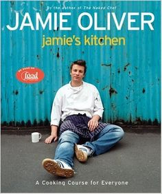 Jamie's Kitchen: A Cooking Course for Everyone by Jamie Oliver / Want to learn to poach, steam, stew, stir-fry, saute,  roast and more...Jamie walks you through it all with tons of recipes that maximize the flavor of good wholesome natural ingredients. (Confession: I have 5 Jamie Oliver Cookbooks and I love them all!)   real foods cookbook, kitchen essentials  