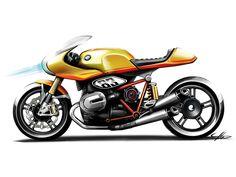 BMW Concept Ninety Design Sketch
